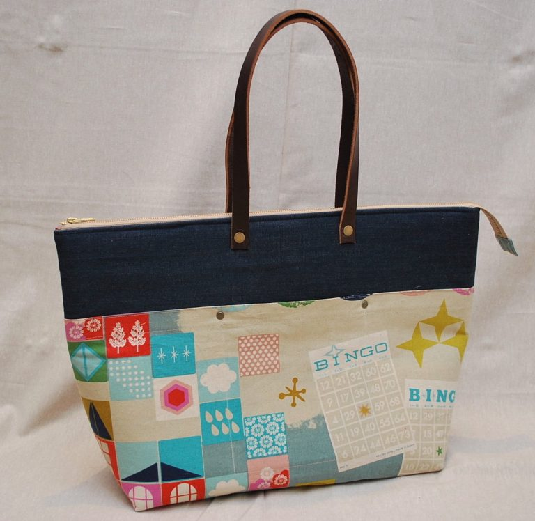 The Zip Top Tote ~ From Handmade Style by Anna Graham