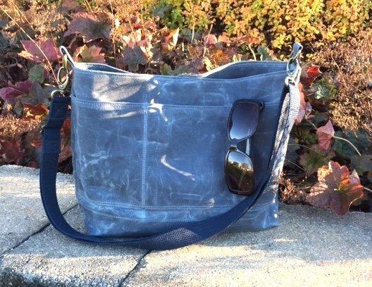 Red Rabbit Mercantile's ~ Waxed Canvas Bramble Bag Kit ~