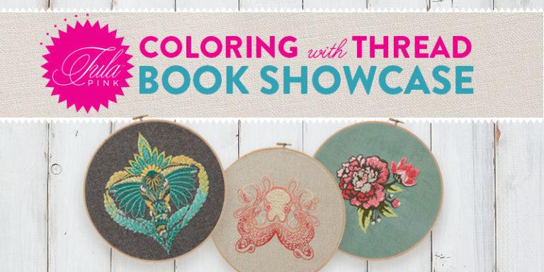 Tula Pink? Embroidery Book? = Yes!!! Take a Peek!